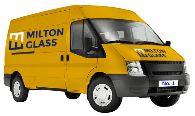 Milton Glass Supplies van