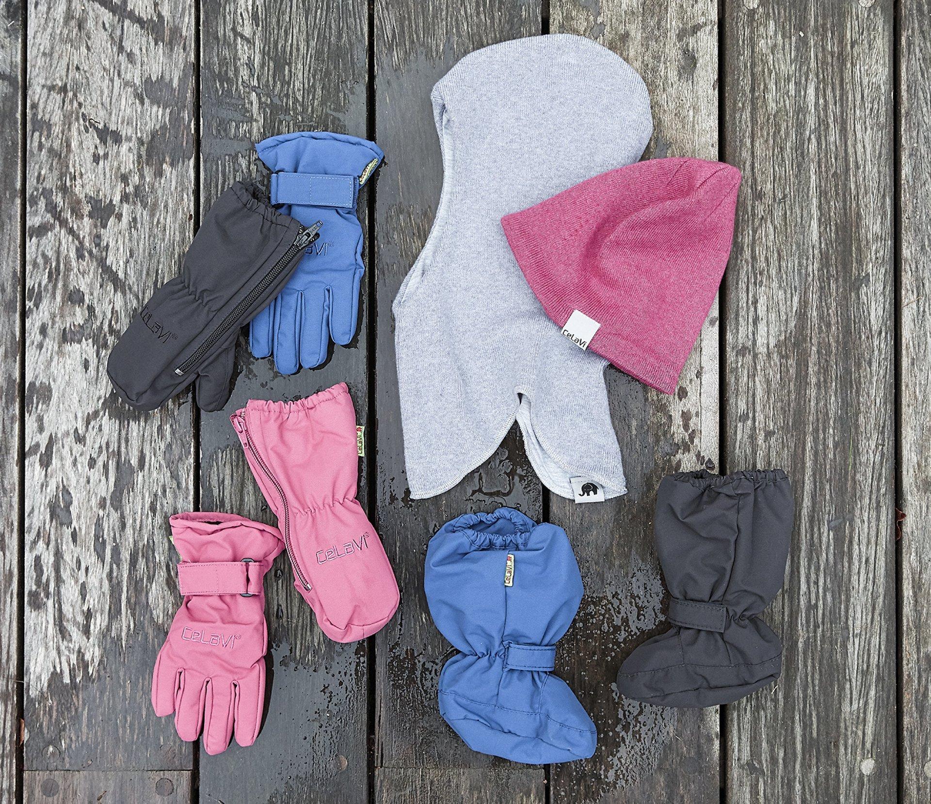 Kinder Mützen und Handschuhe