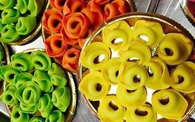 tortelli colorati
