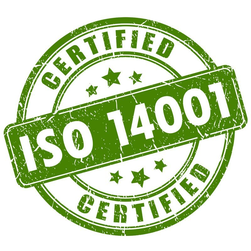 certificazione -CERTIFIED ISO 14001