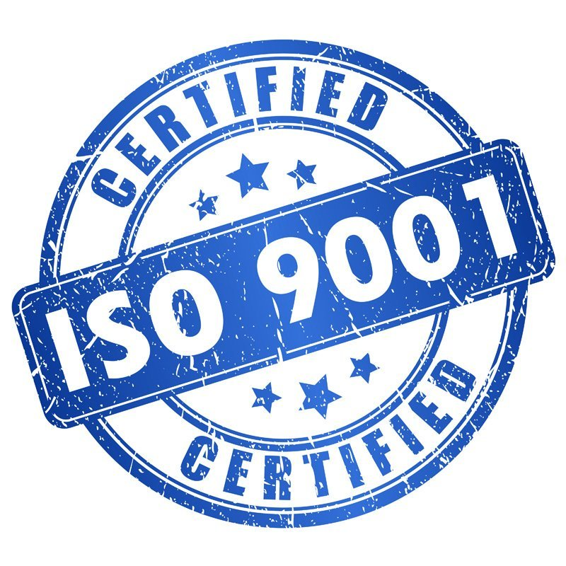 certificazione -CERTIFIED ISO 9001