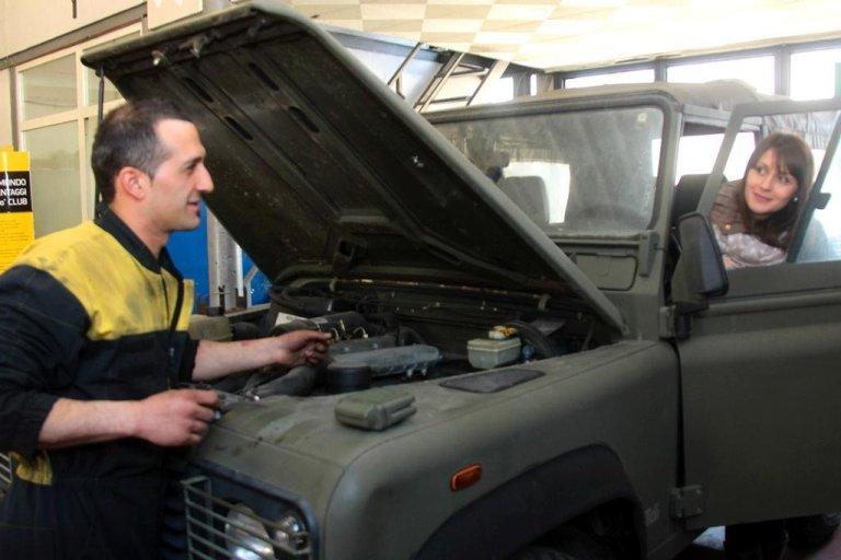 Cambio olio auto, Rieti