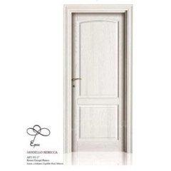porta bianca legno