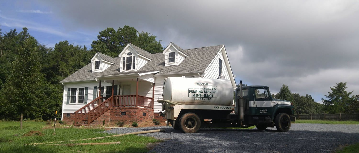 Quality septic tank pumping services in Trinity, NC
