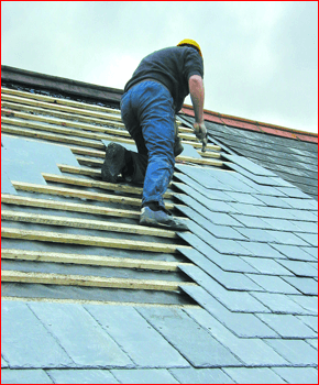 Roofing company in the Harrogate area