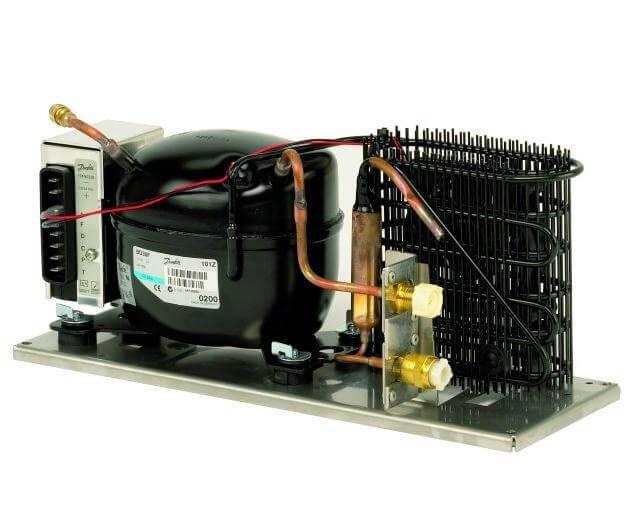 motore frigorifero da imbarcazione