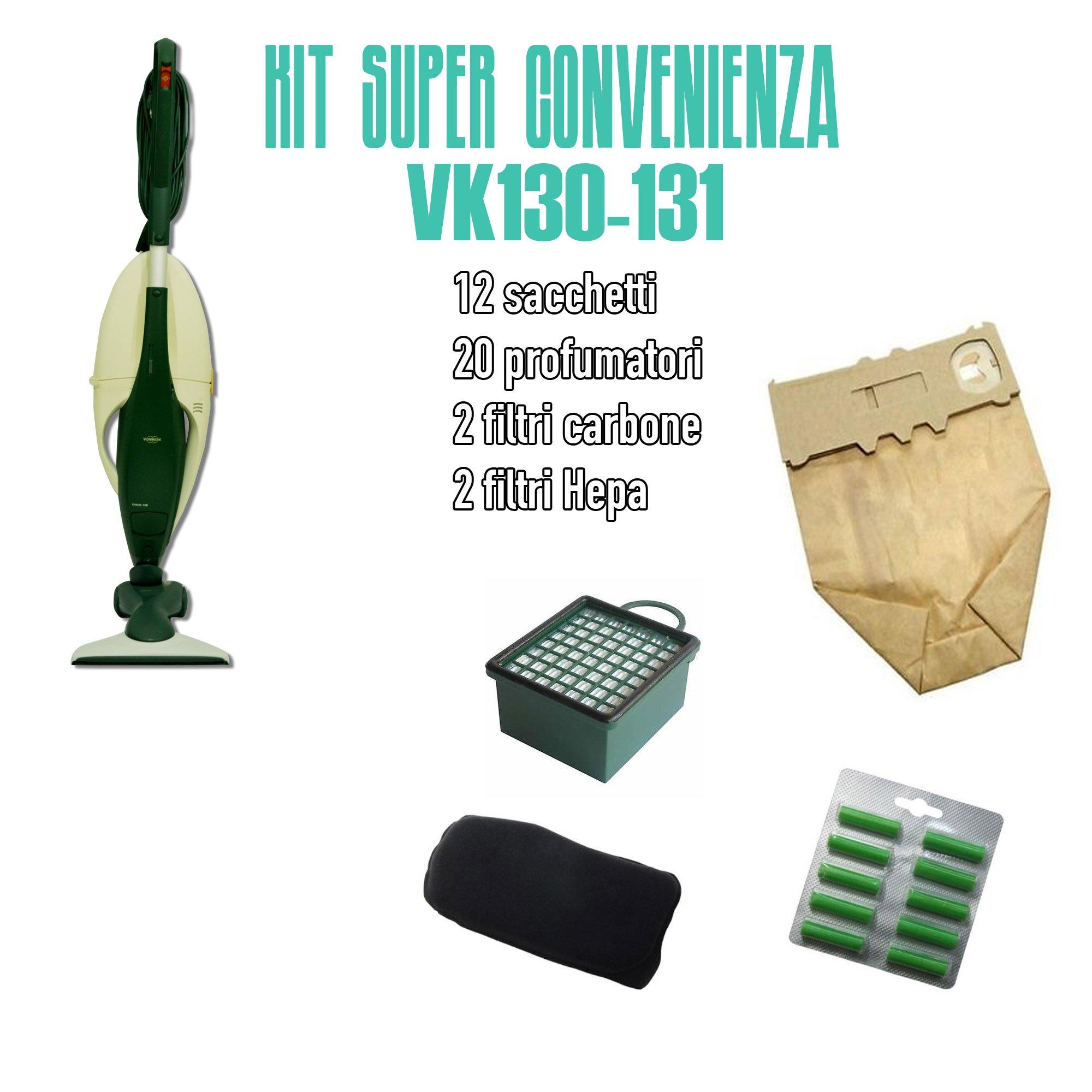 kit convenenzia per Folletto VK130-131