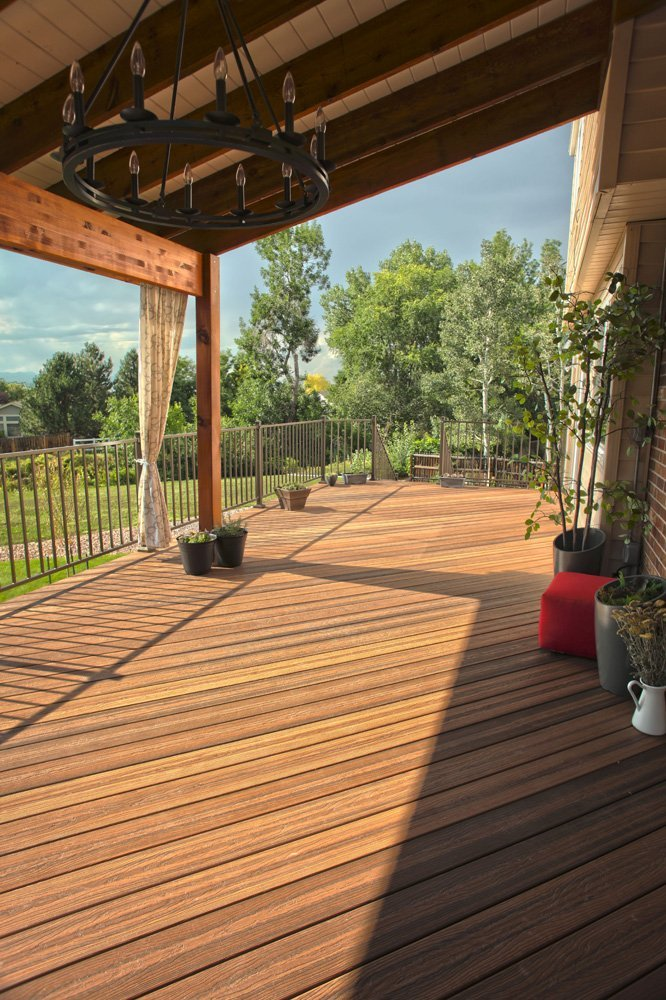 View of the deck flooring in Denver