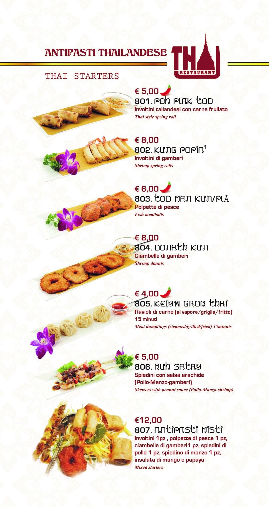 Dove mangiare Thailandese a Roma