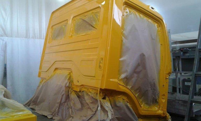 verniciatura camion
