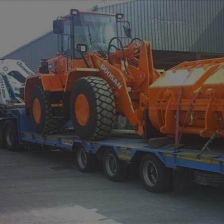 Macchine operatrici per trasporto carichi pesanti