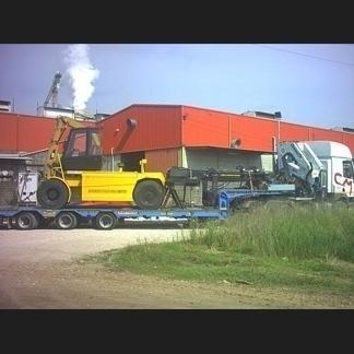 Movimentazione di un carrello elevatore