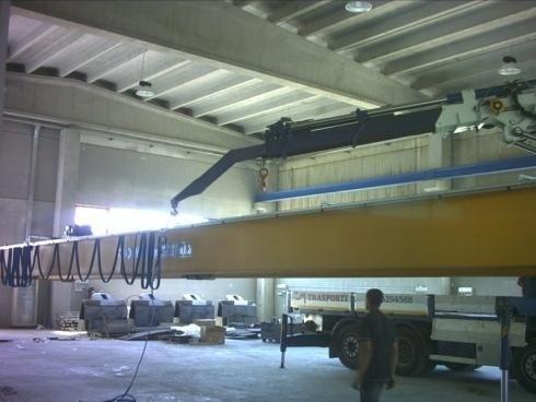 Montaggio carroponte