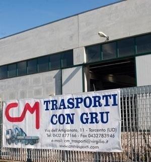 Insegna C.M. Trasporti