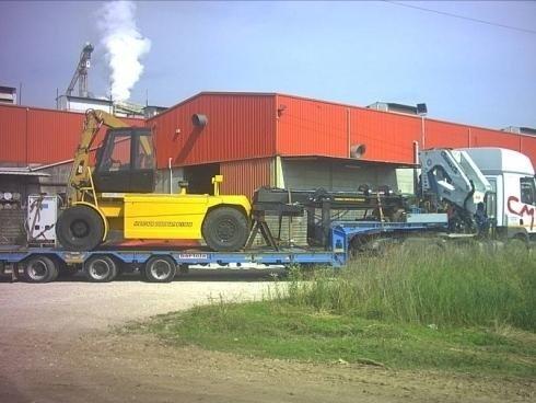 Trasporto macchinari pesanti