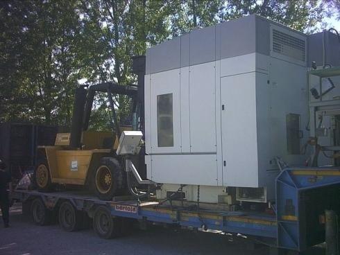 Trasporto stradale container