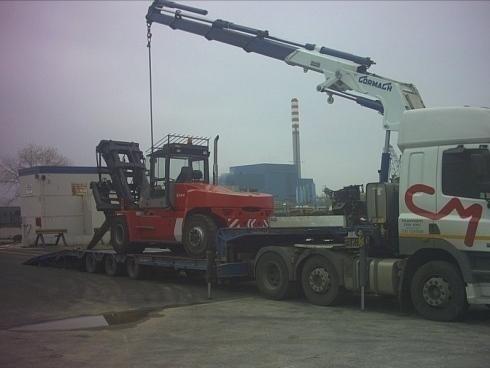 Servizi trasporto carrello elevatore