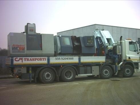 Movimentazione macchinari pesanti