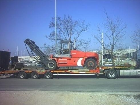 Movimentazione carrello elevatore