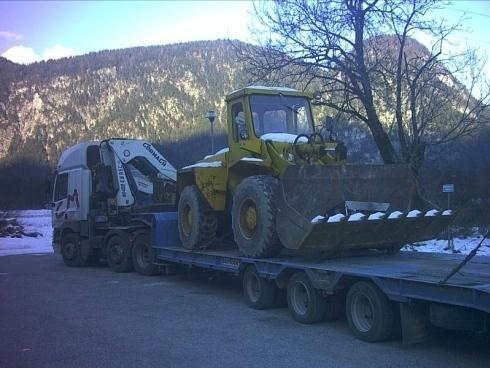 Trasporto automezzo pesante