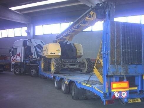 Trasporto carrelli elevatori