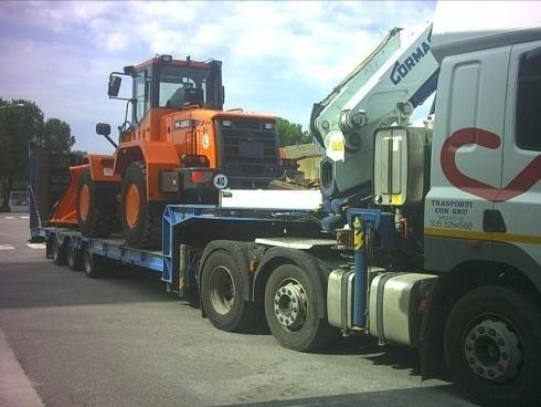 Camion per trasporti speciali