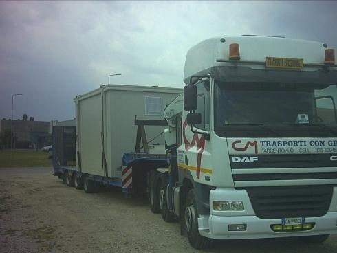 Camion per trasporti eccezionali nazionali