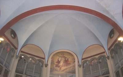 pittura interno chiese
