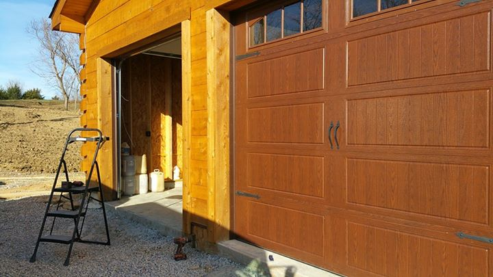 image of garage doors installed by doortechlex