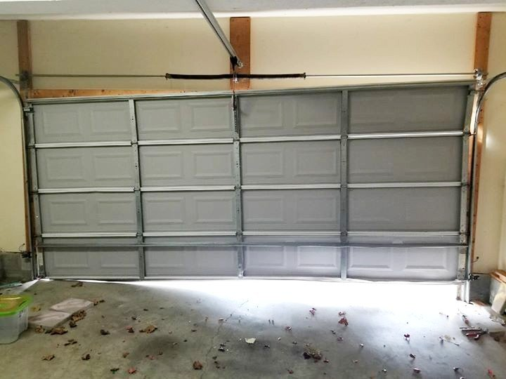 Garage Door Off Track Image