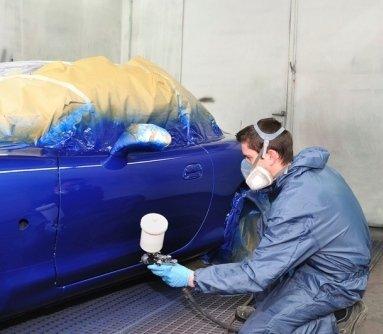 vernice auto, carrozzeria forno auto, vernice metallizzata