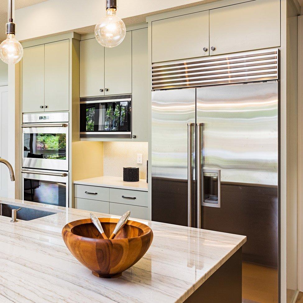 cucina frigo e forno