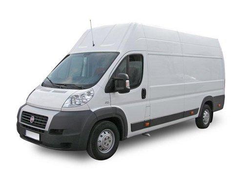 furgone bianco