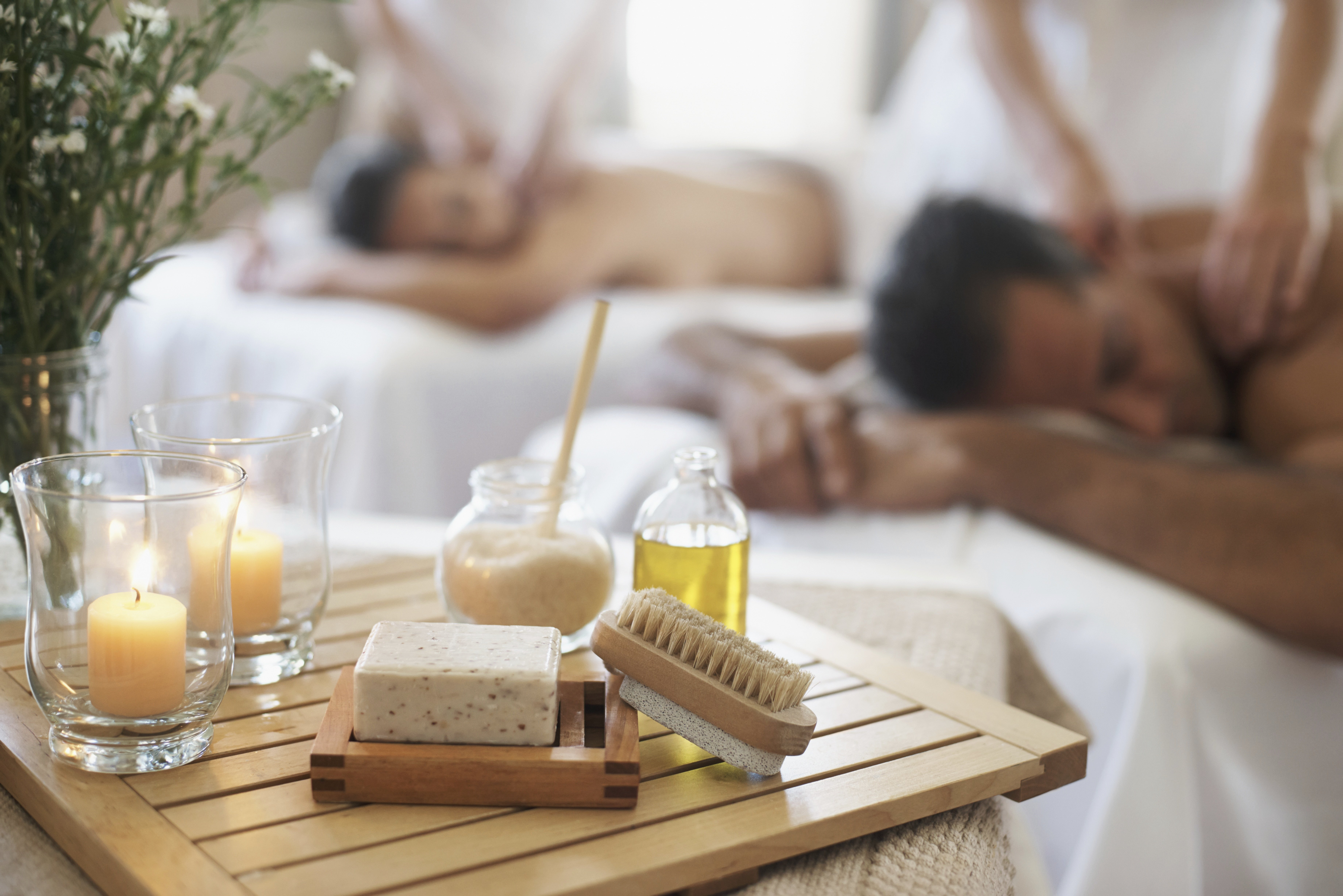 Relaxing massages for men and women
