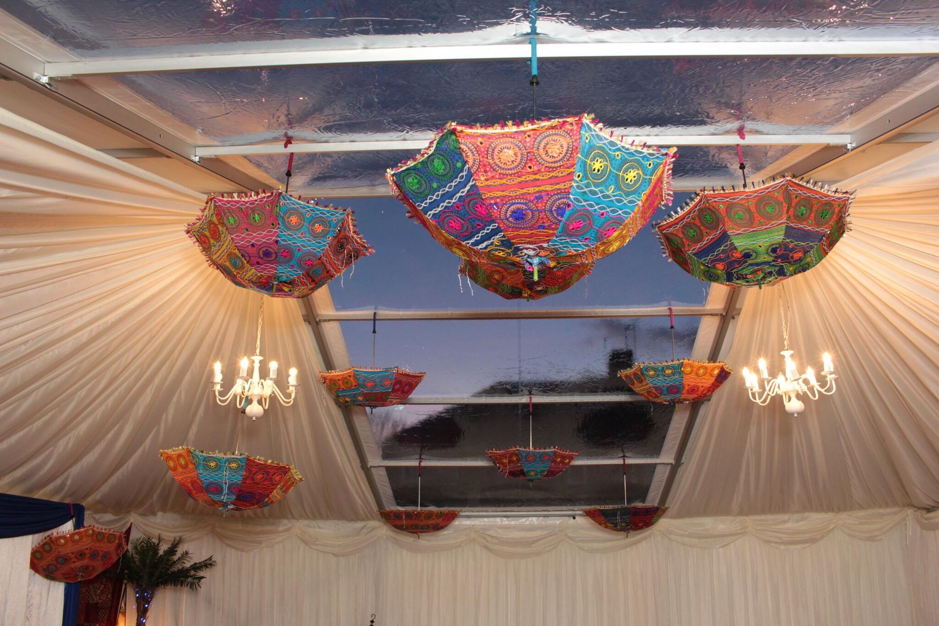 beautifully designed umbrella