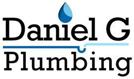 daniel g plumbing plumber branding logo