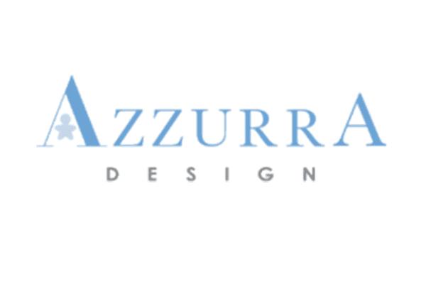 logo azzurra design