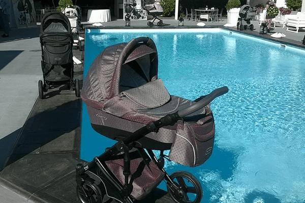 carrozzina per neonati