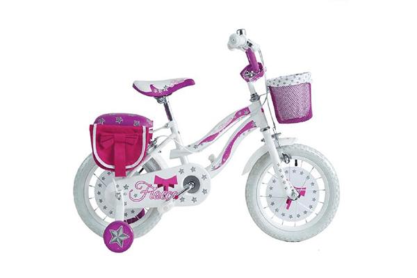 triciclo rosa per bambina