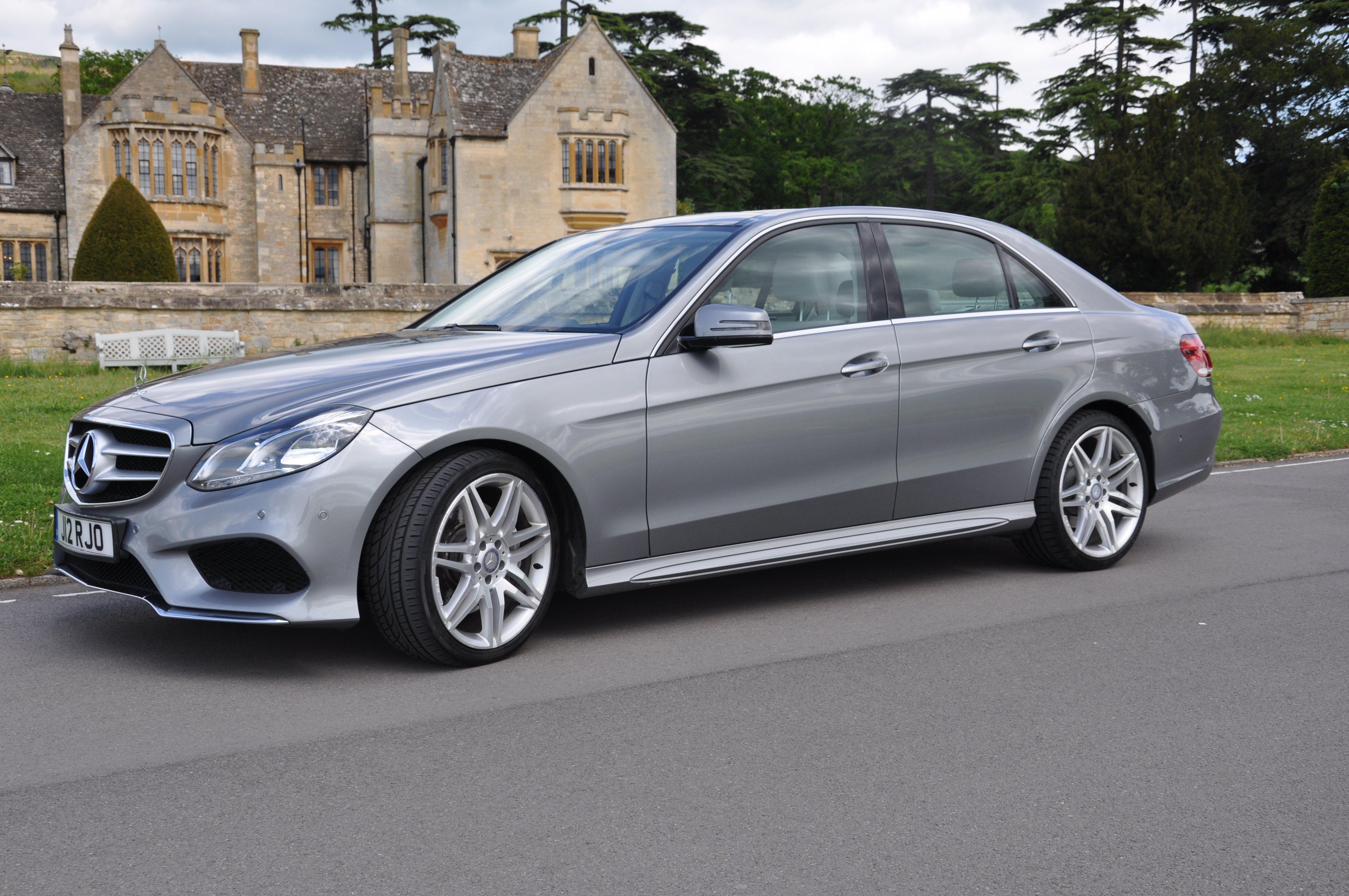 Mercedes chauffeur driven cars