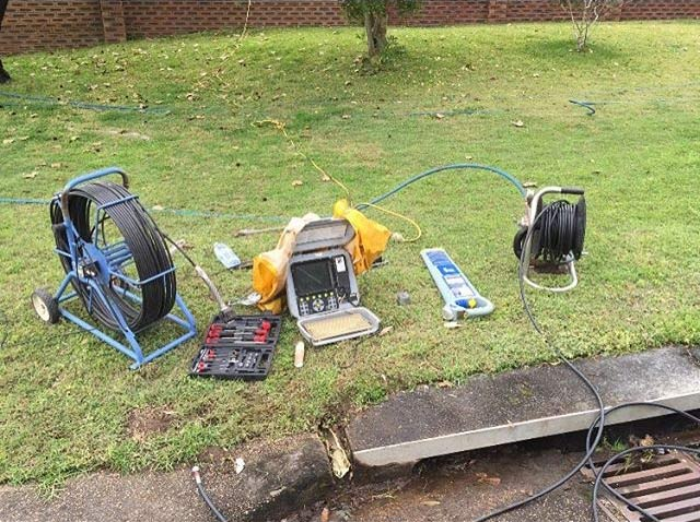 Equipment used by a general plumber in Newcastle