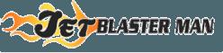jet blaster man logo