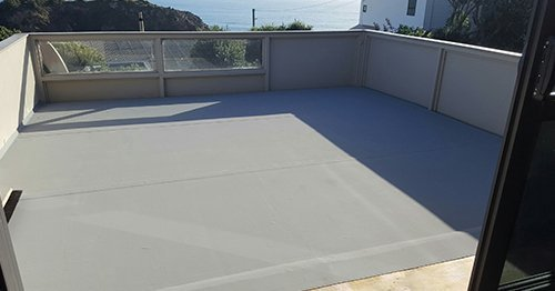 Completed restoration work done on roof