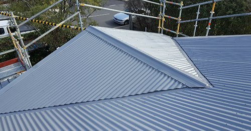 Re roofing work done by professional