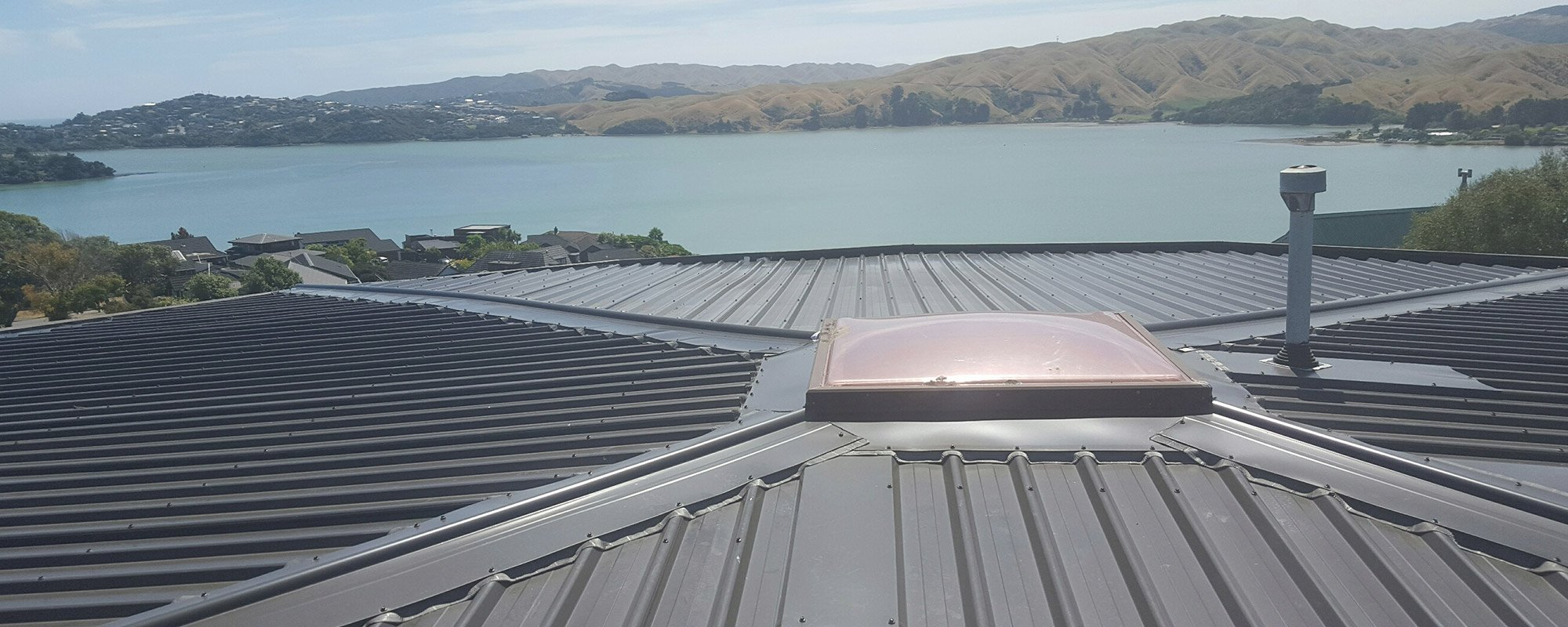 View of a quality roofing work