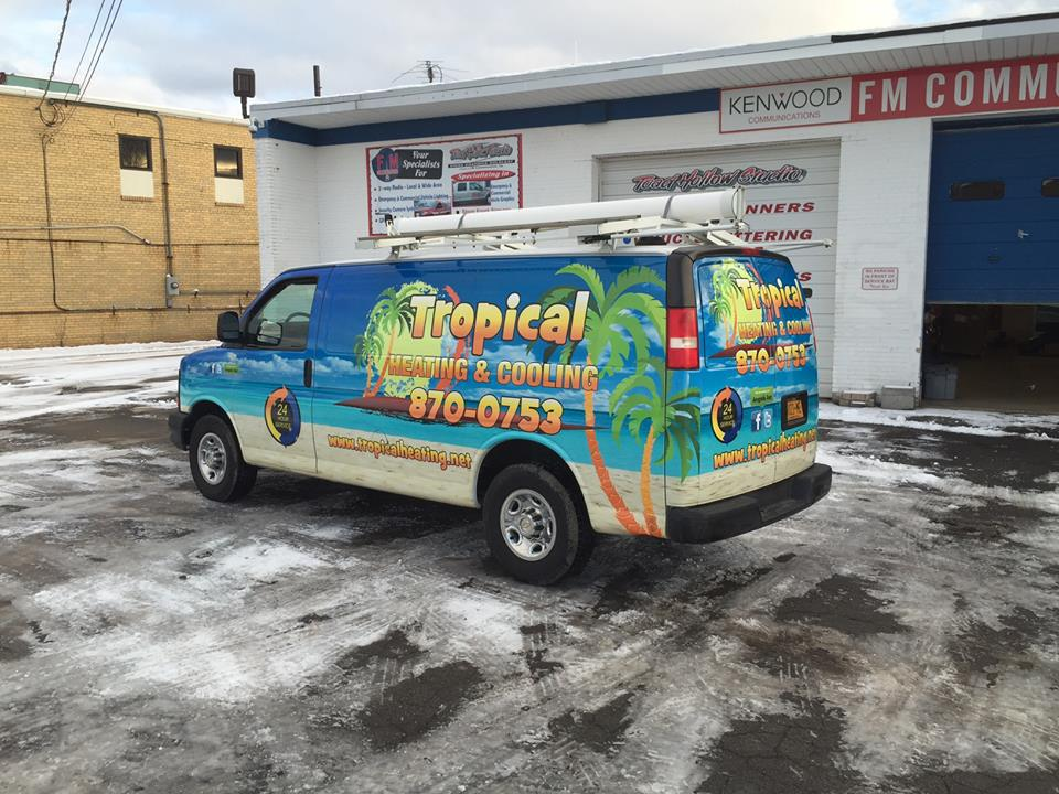 Fleet Vehicle Wraps Buffalo, NY