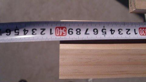 Timber being measured