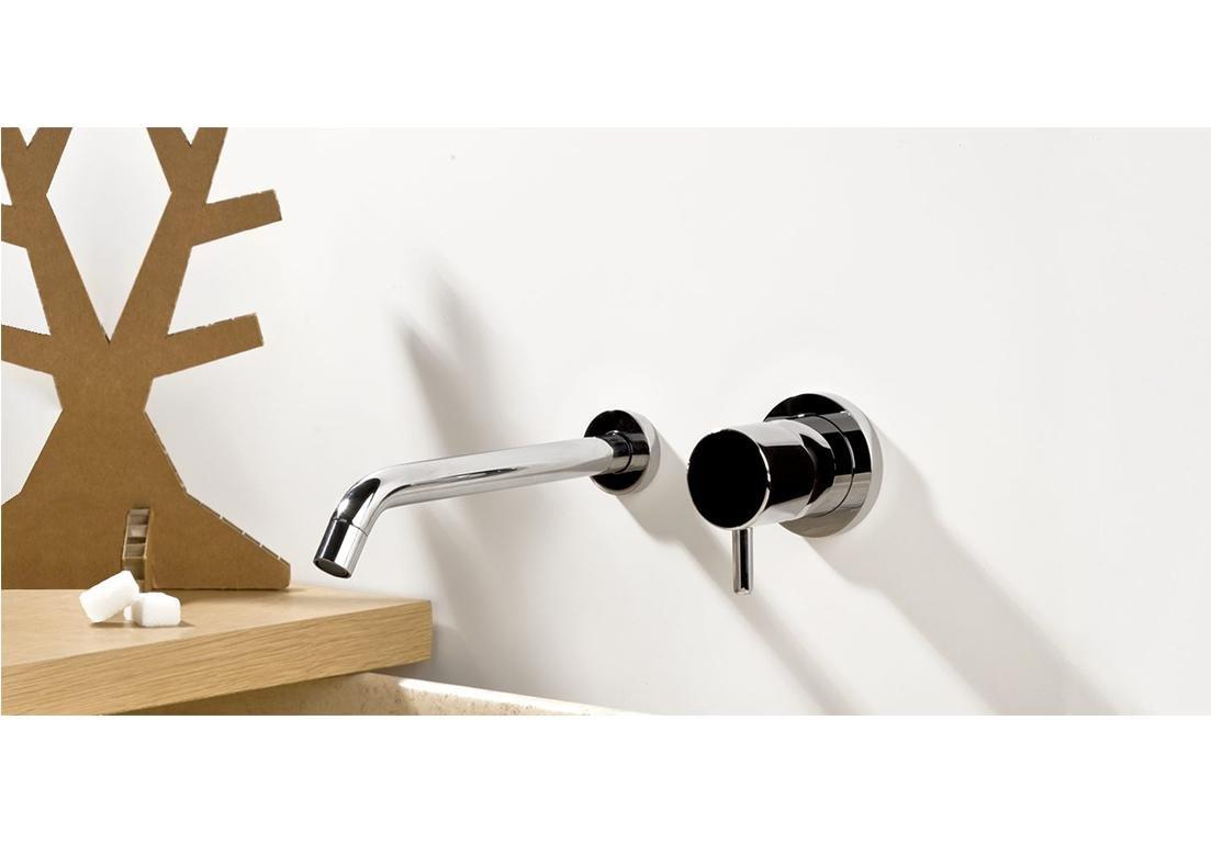 rubinetto da parete a valvola singola