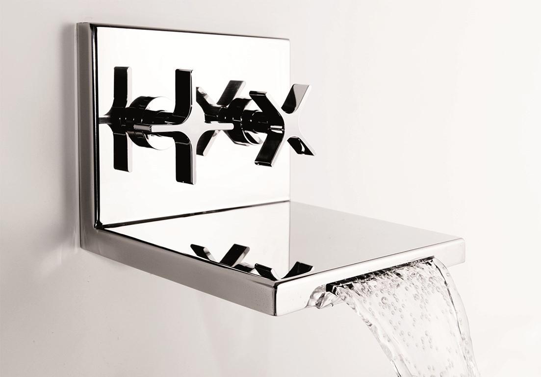rubinetto a cascata a doppia valvola