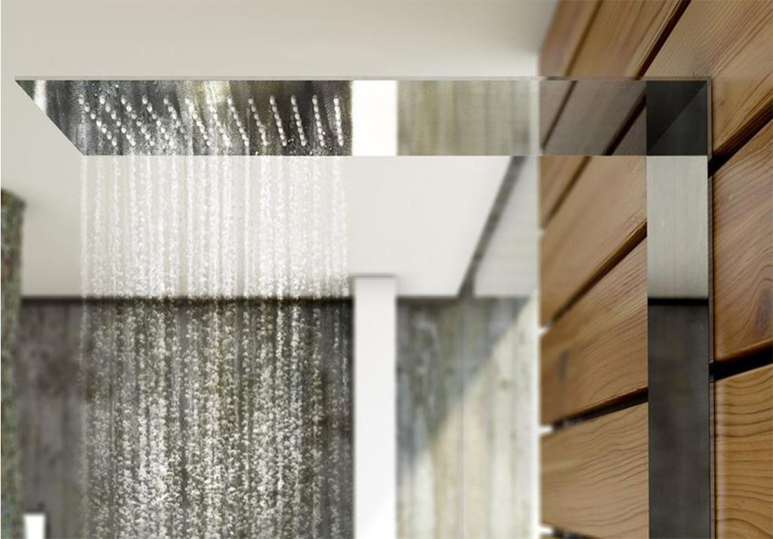 sistema doccia a parete